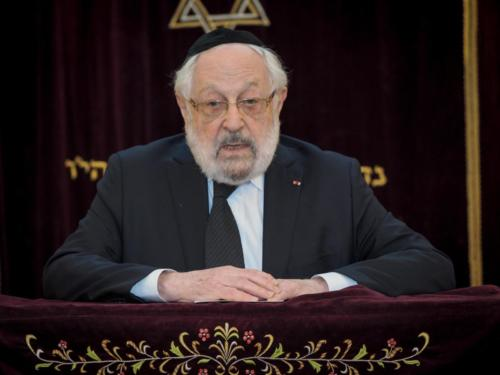 Yom Haatzmaout 2017 - Grand Rabbin Goldmann